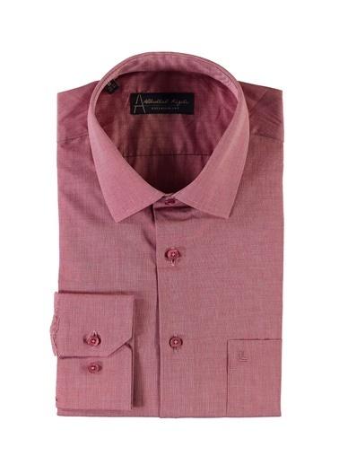 Kiğılı Klasik Gömlek Kırmızı